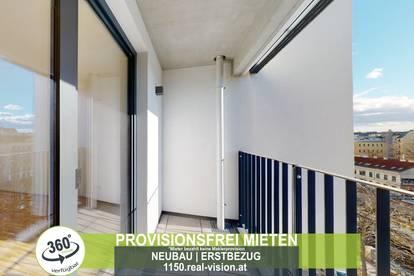 NEUBAU   ERSTBEZUG   2 Zimmer   neue Einbauküche   Loggia   3.OG   Top LW75