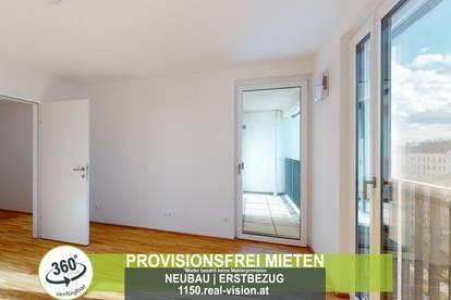 NEUBAU   ERSTBEZUG   2 Zimmer   neue Einbauküche   Loggia   4.OG   Top LW107