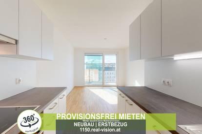 NEUBAU   ERSTBEZUG   2 Zimmer   neue Einbauküche   Loggia   4.OG   Top LW101