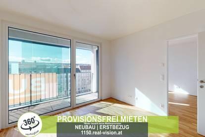 NEUBAU   ERSTBEZUG   2 Zimmer   neue Einbauküche   Loggia   4.OG   Top LW106