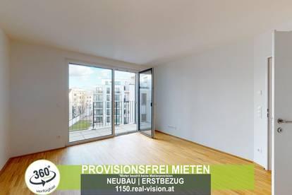 NEUBAU   ERSTBEZUG   2 Zimmer   neue Einbauküche   Loggia   2.OG   Top LW53