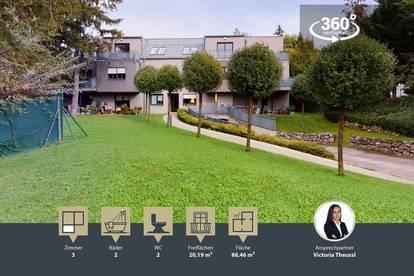 Terrassenwohnung mit 2 Terrassen | Grünlage | modern ausgestattet | tolle Infrastruktur