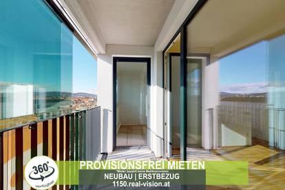 NEUBAU   ERSTBEZUG   2 Zimmer   neue Einbauküche   Loggia   4.OG   Top LW108