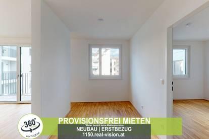 NEUBAU | ERSTBEZUG | 2 Zimmer | neue Einbauküche | Loggia | 3.OG | Top LW67