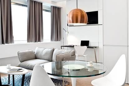 40 m² PROVISONSFREIES und  MÖBLIERTES ALL-IN-APARTMENT FÜR BIS ZU 3 PAX