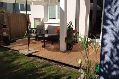 3 Zimmer Wohnung mit Eigengarten