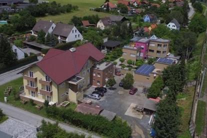 Zinshaus mit großem Familienhaus