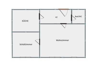 (RESERVIERT) Provisionsfreie helle 2-Zimmer Stadtwohnung! PRIVAT!