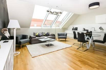 Serviced Apartments Downtown - 2 Zi - Dachgeschosswohnung mit Terrasse - komplett eingerichtet, sofort beziehbar!