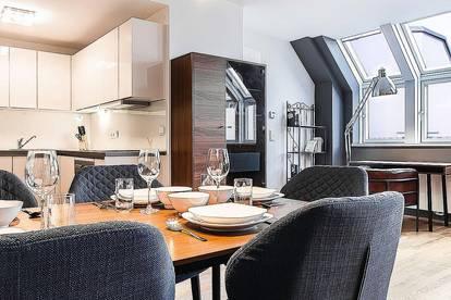 Serviced Apartment Messe Prater - 3Zi - Dachgeschosswohnung mit Terrasse