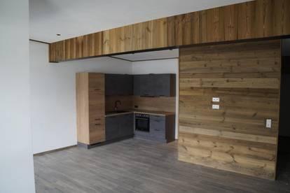 Neu errichtete Wohnung