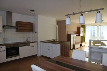 Helle Neubauwohnung in Familienanlage - sehr ruhig - 2 Minuten zum Donauzentrum - teilmöbliert