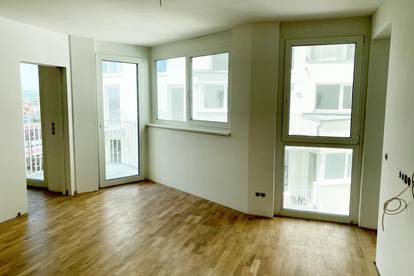 2-Zimmer Erstbezug mit Balkon und Fernblick