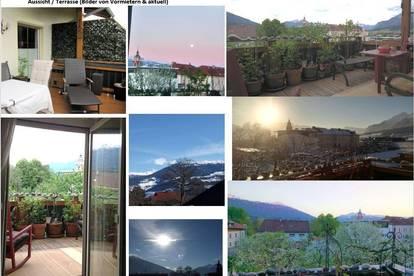 Bereits RESERVIERT!!!!   HELLE 2-Zimmer Wohnung mit Terrasse - traumhafte Aussicht, 2 Auto Abstellplätze, Keller, Absam