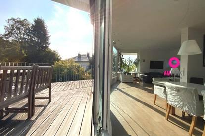 RIEDENBURG/MÜLLN - Mit dem Lift in die eigene Penthouse-Maisonette mit 3 Terrassen!