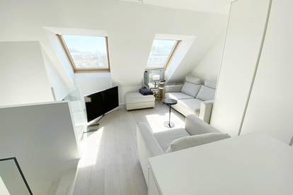Dachterrassenwohnung + Provisionsfrei + Möbliert + Klima