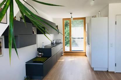 TOP Dachgeschoß-Maisonette 159 m2 FERNBLICK, RUHELAGE, WALDRAND