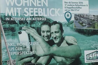 Wohnen mit Seeblick am Attersee in Attersee