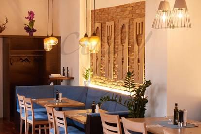 Profisionfrei: Restaurant in bester Lage