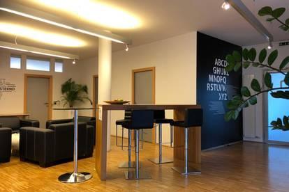 VERMIETET!!! -      MIETDAUER FLEXIBEL WÄHLBAR! Modernes Büro mit Rundumterrasse und top IT-Ausstattung in perfekter Lage - PROVISIONSFREI!