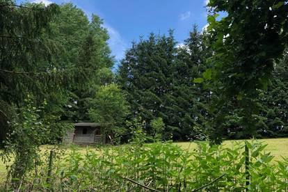 Sonniges idyllisches Grundstück zu verpachten