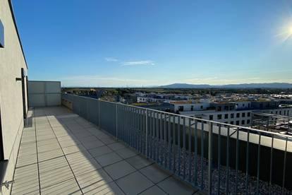 Provisionsfreie traum Dachterrassenwohnung Erstbezug neben U1 und Therme Wien