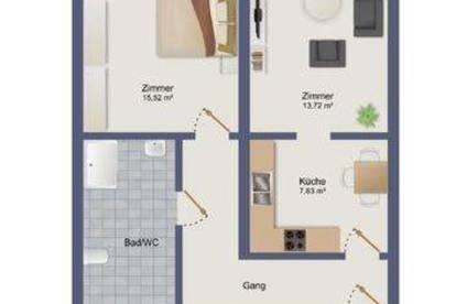 Schöne 2-Zimmer Wohnung in Graz/Gösting