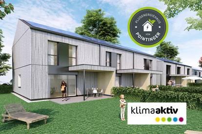 Reihenhaus PLUSENERGIEHAUS mit Keller – Haus 9