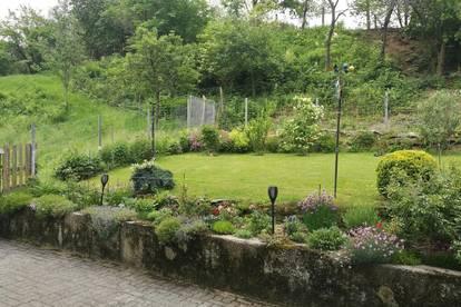 Große Wohnung mit Garten!