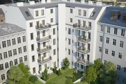 // Altbau-Projekt beim Westbahnhof // sanierte Kleinwohnungen mit Weitblick