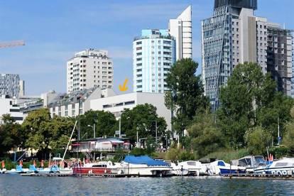 Bestlage: Alte Donau + mit U1 vor der Tür in die City