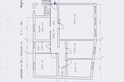 Schöne, helle Wohnung für Familie und Homeoffice oder Wohngemeinschaft