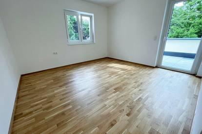 ERSTBEZUG - Liebenau! 74m² Wohnung mit Terrasse + Balkon - Fertigstellung Sommer 2021!