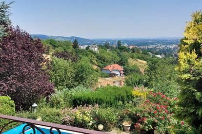 Villa-Miete, am Ölberg mit Traumblick und Pool, in absoluter Ruhelage