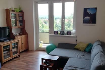 58m² 2-Zimmer Wohnung mit südseitigem Balkon