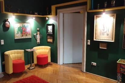 Schöne, voll möblierte, künstlerische Wohnung im Andrä- Viertel