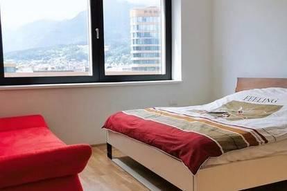 2 Schlafzimmer voll möblierte Wohnung zu vermieten