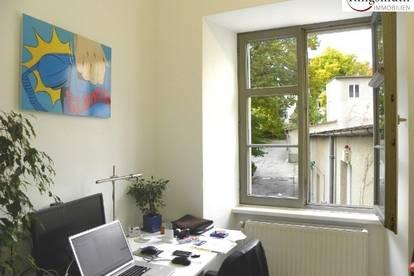 ALL INCLUSIVE MIETE: ca. 8m² Büro mit Gartenblick + allg. Räume! inkl. Heizung, Internet, Reinigung, Besprechungsräume, Parkplatz etc.! PROVISIONSFREI!