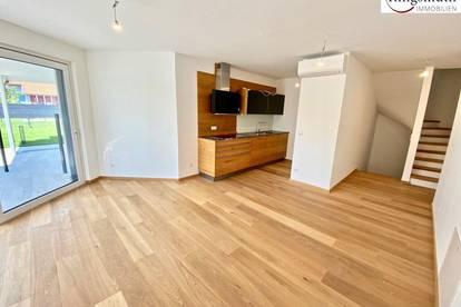 Schlüsselfertiges Reihenhaus mit ca. 100m² Eigengarten, privater Dachterrasse und voll ausgestatteter Küche !!