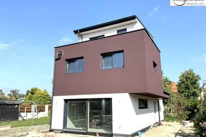 ökologisches Einfamilienhaus - Photovoltaikanlage - Steinwolldämmung - E-Ladestation - sonnige Terrasse