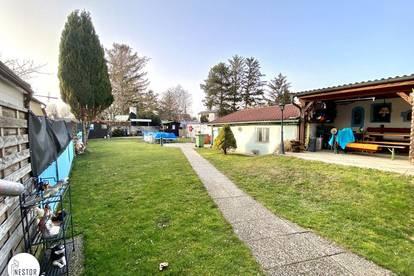 SCHNELL SEIN: Großes Grundstück mit Altbestand AB INS GRÜNE