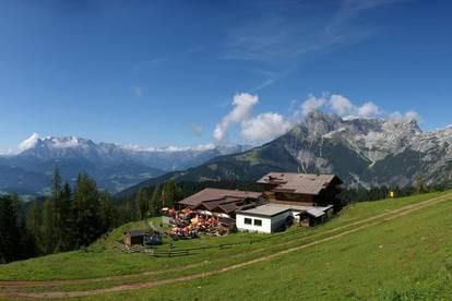 Skirestaurant mit mehr als 300 Plätzen, Terrasse, Apres Ski Bar, Wohneinheit zu mieten.