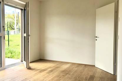 Gut geteilte 2-Zimmer-Wohnung mit Gartenanteil