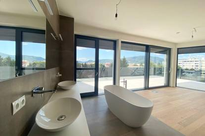 Luxuriöse Penthouse mit Pool und Stadtblick
