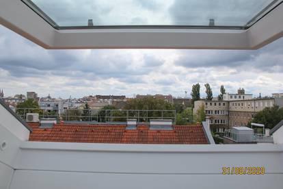 Ruhige, helle 56,8 m2 - 3 Zimmer - Dachgeschoss Wohnung in AKH Nähe