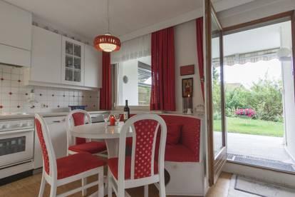 Ruhige möblierte 2,5-Zimmer Wohnung mit Garten in Seenähe