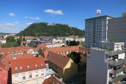 Über den Dächern von Graz * helle 2,5-Zimmerwohnung Wohlfühlwohnung