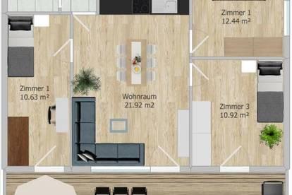 NUR NOCH 1 WOHNUNG MIT 69m² VERFÜGBAR *Wohnprojekt in St. Margarethen*