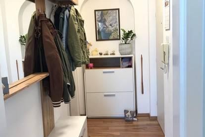 Ruhige zentrale 2 Zimmer-Wohnung in Linz-Urfahr mit Loggia