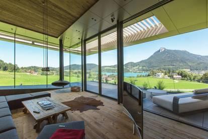 Einzigartige Design - Villa in Alleinlage mit Bilderbuchblick auf den Fuschlsee